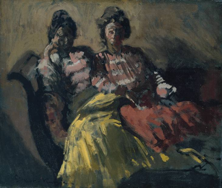 Two Women on a Sofa, 1903-1904