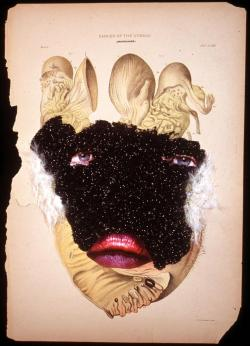 Cancer of the Uterus, 2005 - Wangechi Mutu