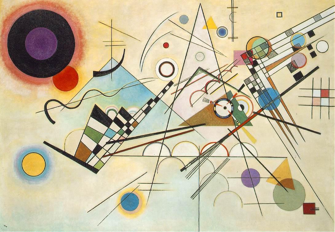 Composition VIII, 1923 - Wassily Kandinsky - WikiArt.org