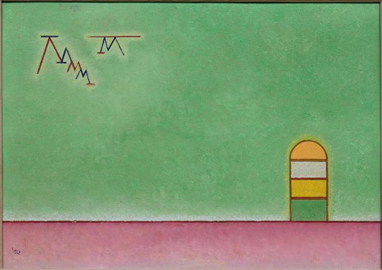 Green emptyness, 1930 -  Wassily Kandinsky