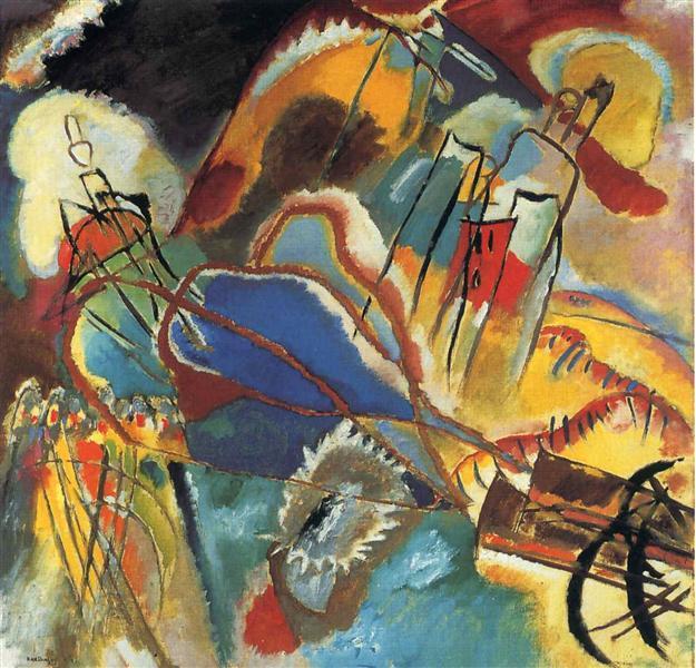 Improvisation 30 (Cannons), 1913 - Wassily Kandinsky