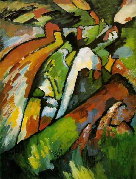 Improvisation 7, 1910 - Wassily Kandinsky