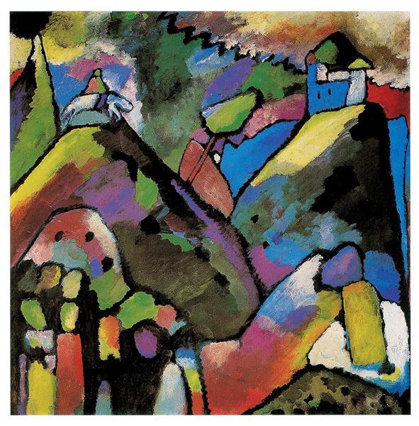 Improvisation 9, 1910 - Wassily Kandinsky