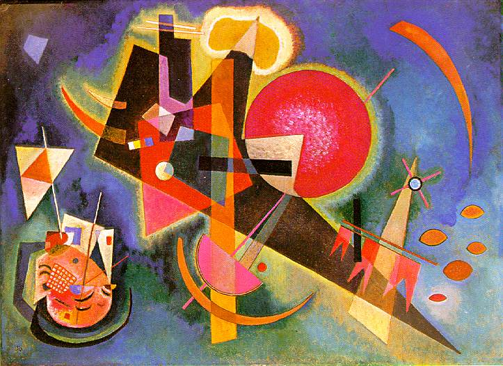 In Blue, 1925 - Wassily Kandinsky - WikiArt.org