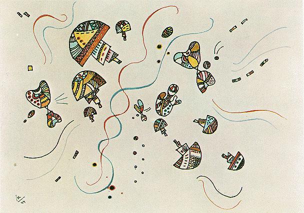 Последняя акварель, 1944 - Василий Кандинский