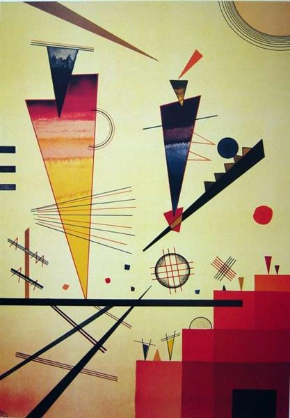 Merry Structure, 1926 - Wassily Kandinsky