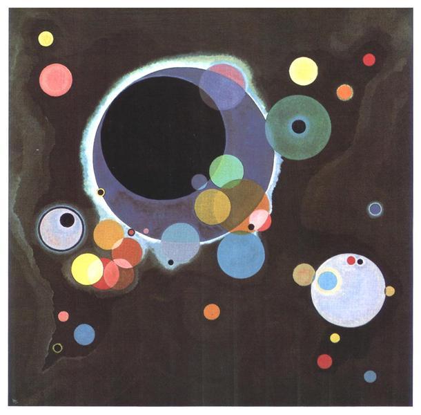 Several circles, 1926 - Wassily Kandinsky