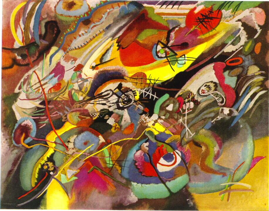 Wassily Kandinsky  Composition VII 1913  Artsy
