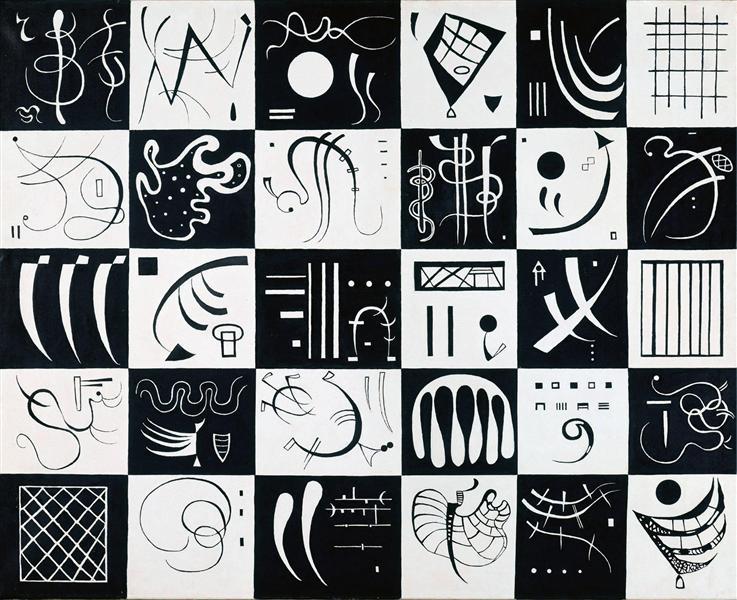 Thirty, 1937 - Wassily Kandinsky