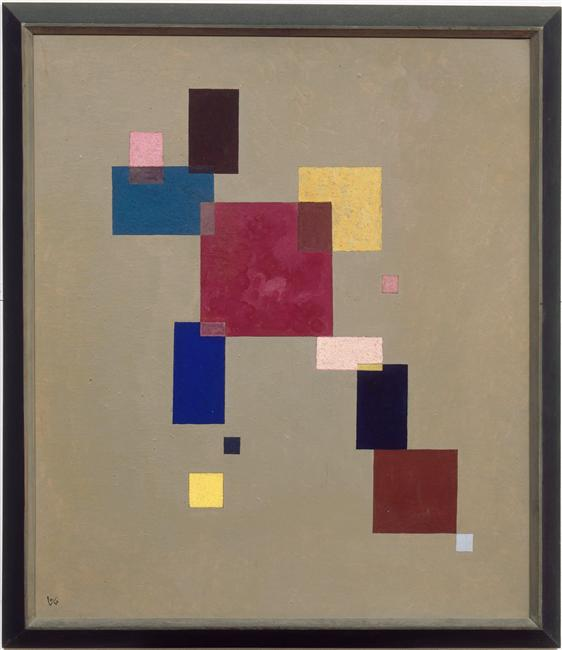 Three rectangles -  Wassily Kandinsky