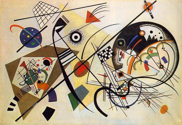 Transverse Line, 1923 - Wassily Kandinsky