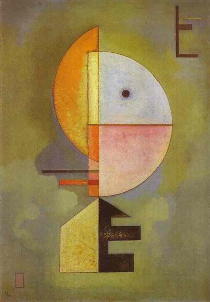 Upward, 1929 - Wassily Kandinsky