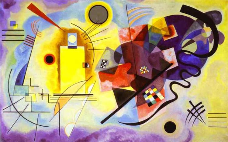 Yellow-Red-Blue - Wassily Kandinsky