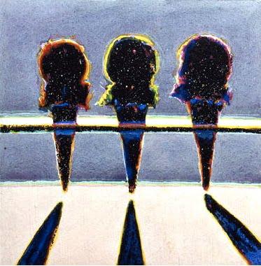 Dark Cones, 1964 - Wayne Thiebaud - WikiArt.org