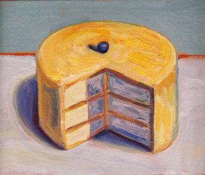 Lemon Cake - Wayne Thiebaud