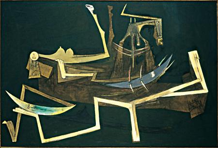 Tropique du Capricorne, 1961 - Wifredo Lam