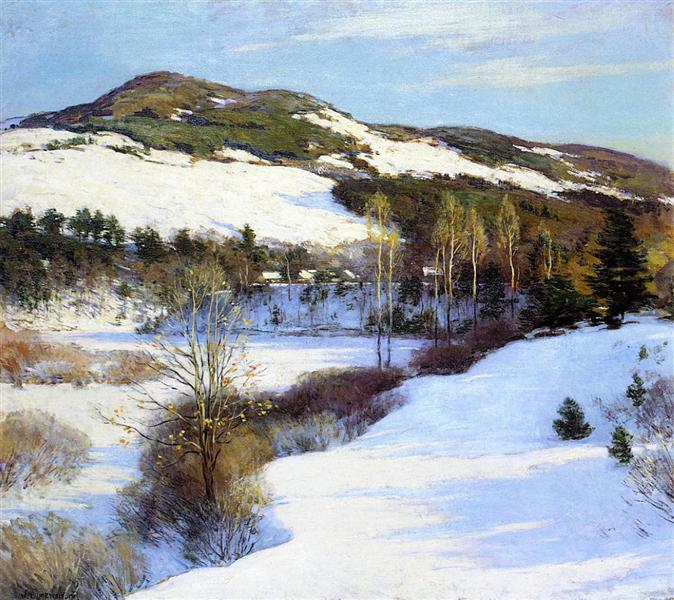 Cornish Hills, 1911 - Willard Metcalf