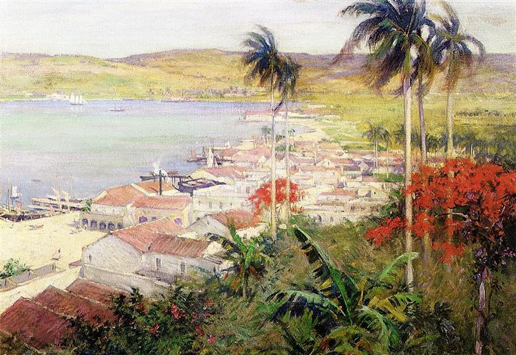Havana Harbor, 1902 - Willard Metcalf