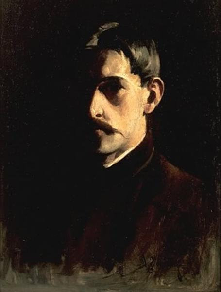 Self-Portrait, 1890 - Willard Metcalf