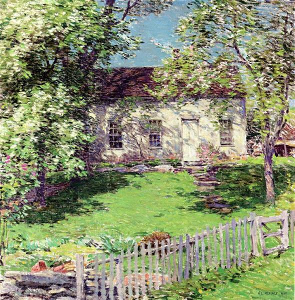 The Little White House, 1919 - Willard Metcalf