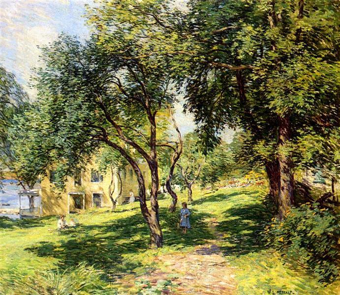 The Path, 1912 - 1915 - Willard Metcalf