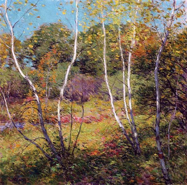 Waning Summer - Willard Metcalf