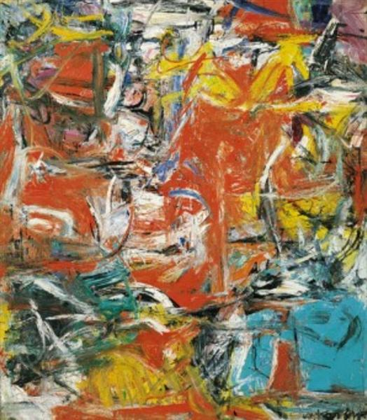Composition, 1955 - Willem de Kooning