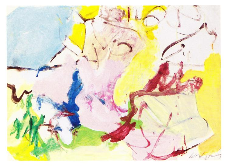 Landscape of a Woman - Willem de Kooning