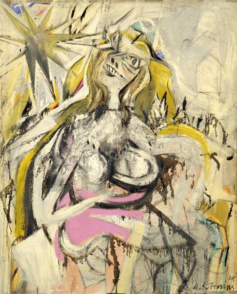 Willem De Kooning Woman V