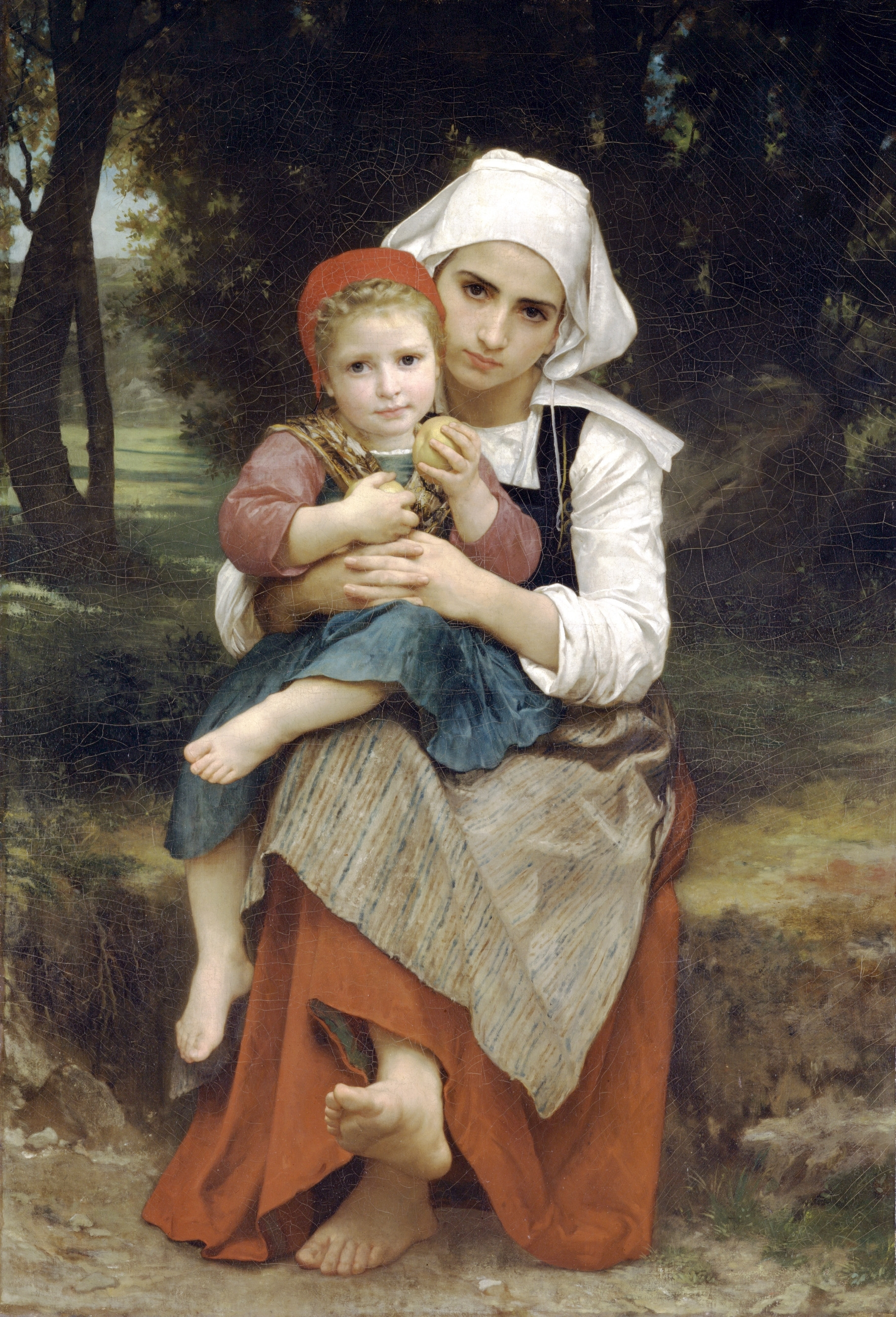 Breton Brother and Sister, 1871
