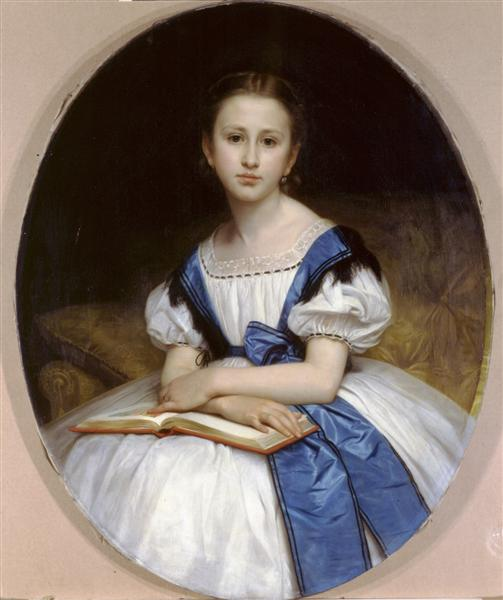 Portrait of Mlle Brissac, 1863 - William-Adolphe Bouguereau