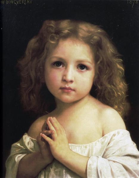 Prayer, 1878 - William-Adolphe Bouguereau