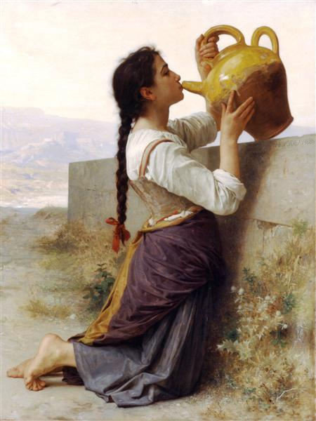 Thirst, 1886 - William-Adolphe Bouguereau