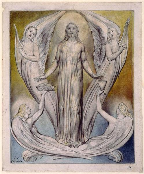 Angels Ministering to Christ, 1816 - 1820 - William Blake