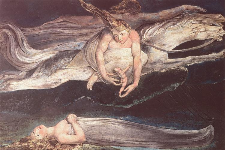 Illustration to Dante's Divine Comedy, 1795 - William Blake