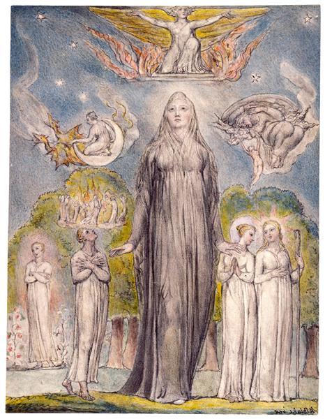 Melancholy, 1816 - 1820 - William Blake