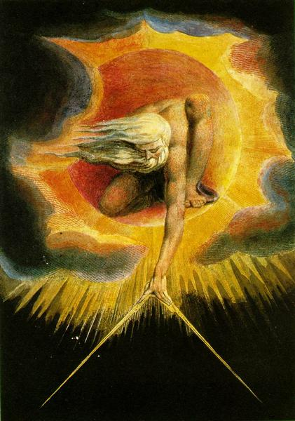 The Ancient of Days, 1794 - William Blake
