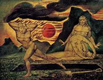 The Body of Abel Found by Adam & Eve - William Blake