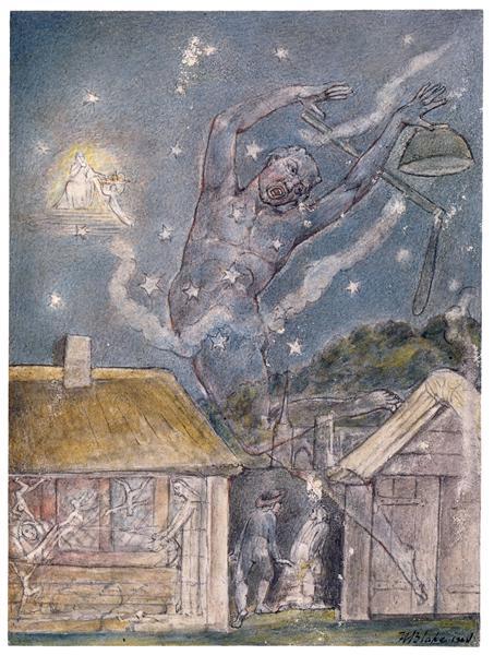 The Goblin, 1816 - 1820 - William Blake
