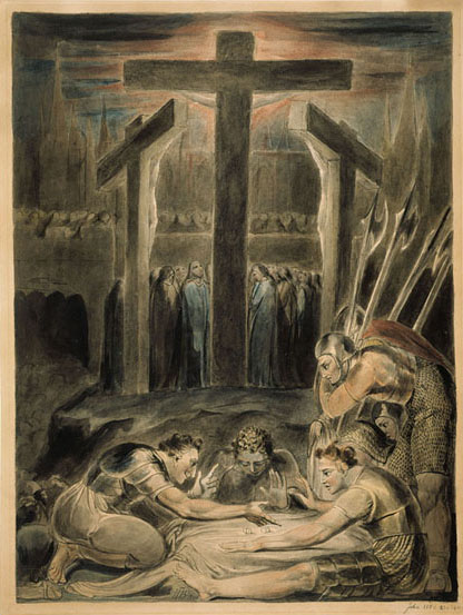 The Soldiers Casting Lots for Christ's Garments, 1800 - William Blake
