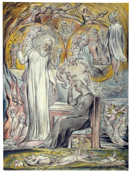 The Spirit of Plato, 1816 - 1820 - William Blake