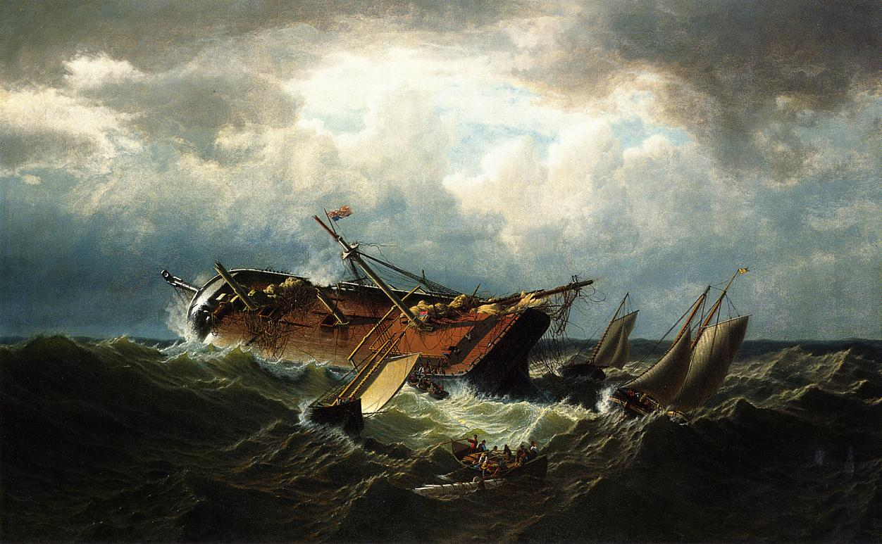 shipwreck off nantucket also known as wreck off nantucket