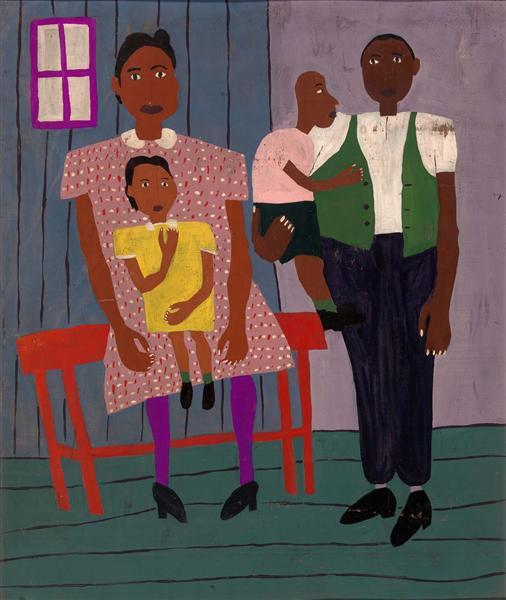 Family Portrait, 1944 - William H. Johnson