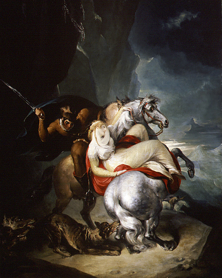 The Wolves Descending from the Alps, 1794 - William Hamilton