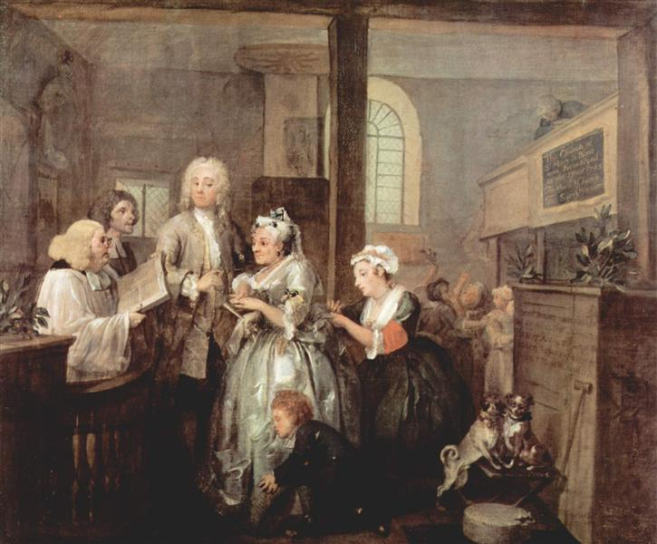 Marriage, 1732 - 1735 - William Hogarth