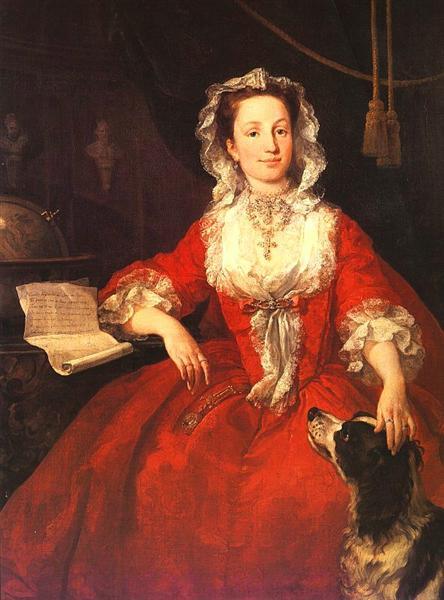 Miss Mary Edwards, 1742 - William Hogarth