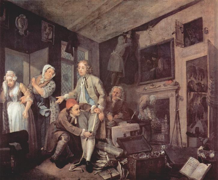 The heir, 1732 - 1735 - William Hogarth