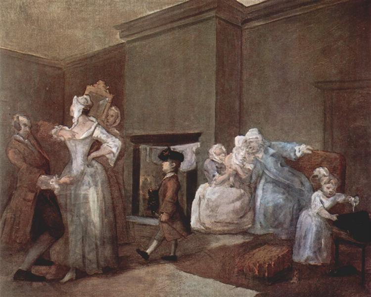 The Staymaker, c.1744 - William Hogarth