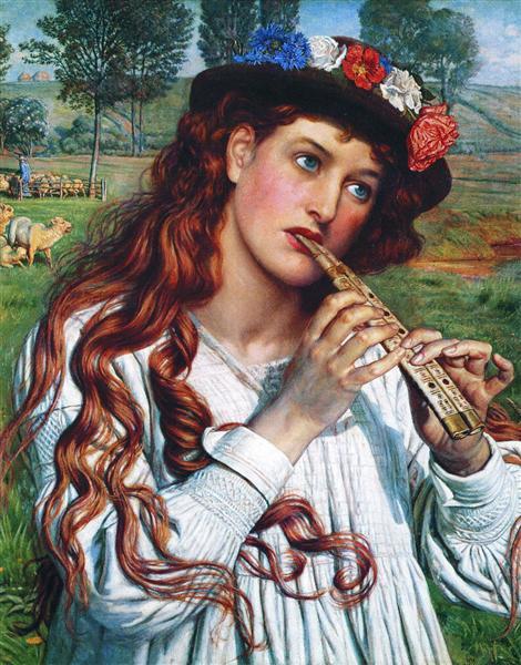 Amaryllis - William Holman Hunt