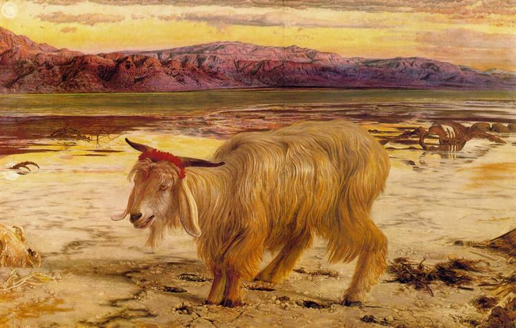 The Scapegoat, 1854 - 1856 - William Holman Hunt